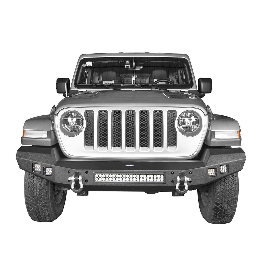 Full Width Climber Front Bumper(2020 Jeep Gladiator)