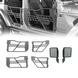 Half Door / Side Mirrors / Door Rack Door Cart(18-21 Jeep Wrangler JL)