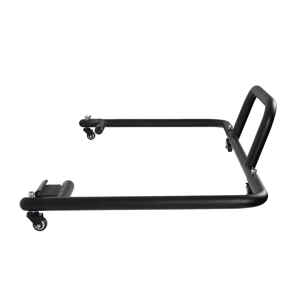 Hard Top Carrier Storage Cart Rack Black Sliding(87-20 Jeep Wrangler JK YJ TJ JL)
