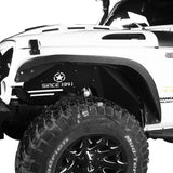 Jeep JK Flux Tubular Fender Flares & Inner Fender Liners for Jeep Wrangler JK 2007-2018 Jeep JK Metal Fenders Jeep JK Accessories  BXG089MMR1760BXG223 u-Box offroad 9