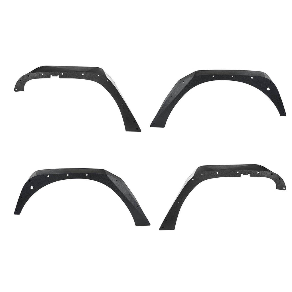 Jeep JK Flux Tubular Fender Flares & Inner Fender Liners for Jeep Wrangler JK 2007-2018 Jeep JK Metal Fenders Jeep JK Accessories  BXG089MMR1760BXG223 u-Box offroad 7