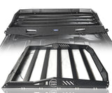 Hard Top Rear Roof Rack Cargo Carrier Basket(07-18 Jeep Wrangler JK 4 Doors)