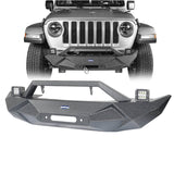 Blade Master Front Bumper w/Winch Plate & License Plate Holder(2020 Jeep Gladiator)