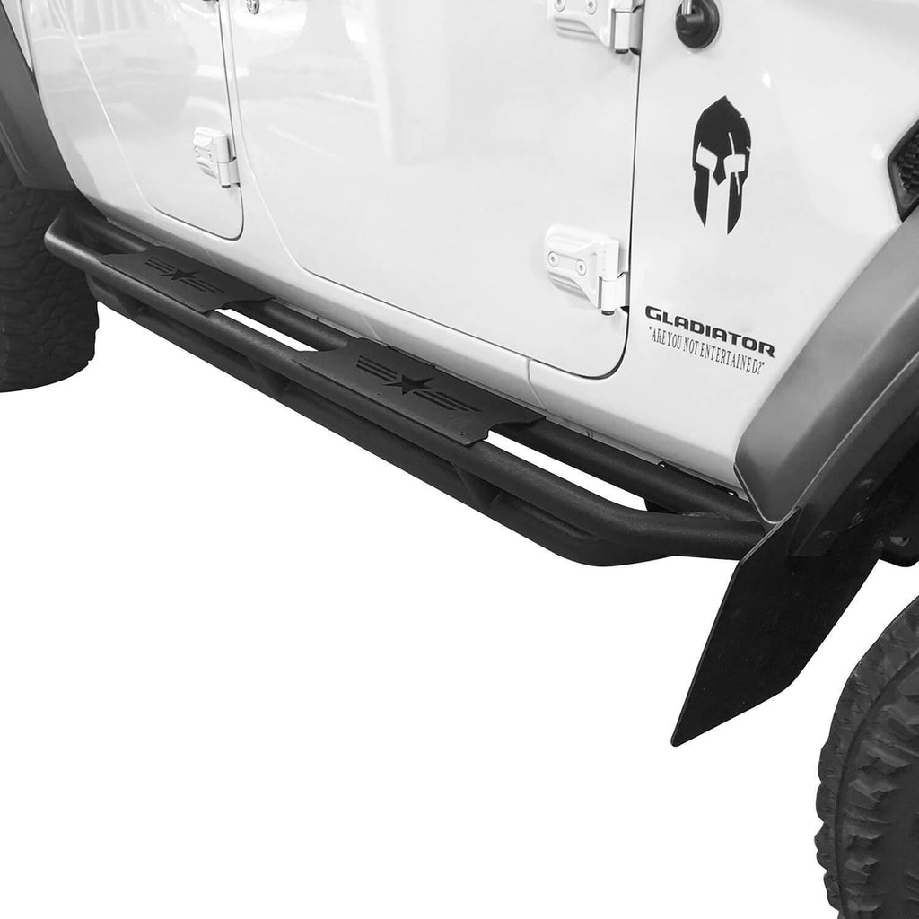 Star Side Step Tubular Running Bards(2020 Jeep Gladiator)