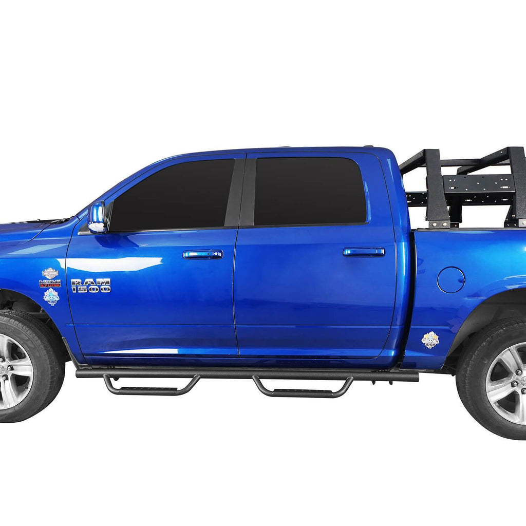 Nerf Side Steps Bars( 09-18 Dodge Ram 1500 Crew Cab 4-Door)