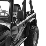 Rear Fender Flares(87-95 Jeep Wrangler YJ)