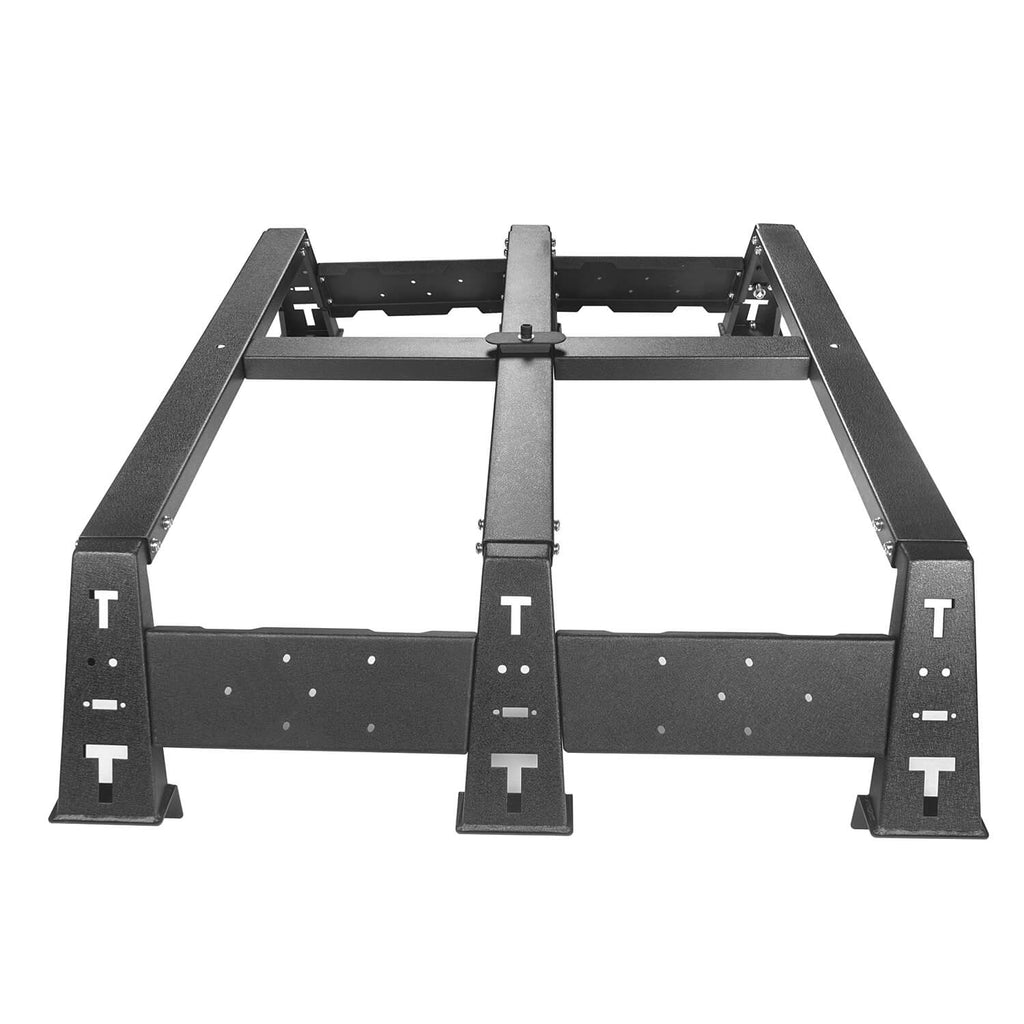 Crewmax Roof Rack & MAX 13Inch High Bed Rack & Roll Bar Bed Rack(14-20 Toyota Tundra)