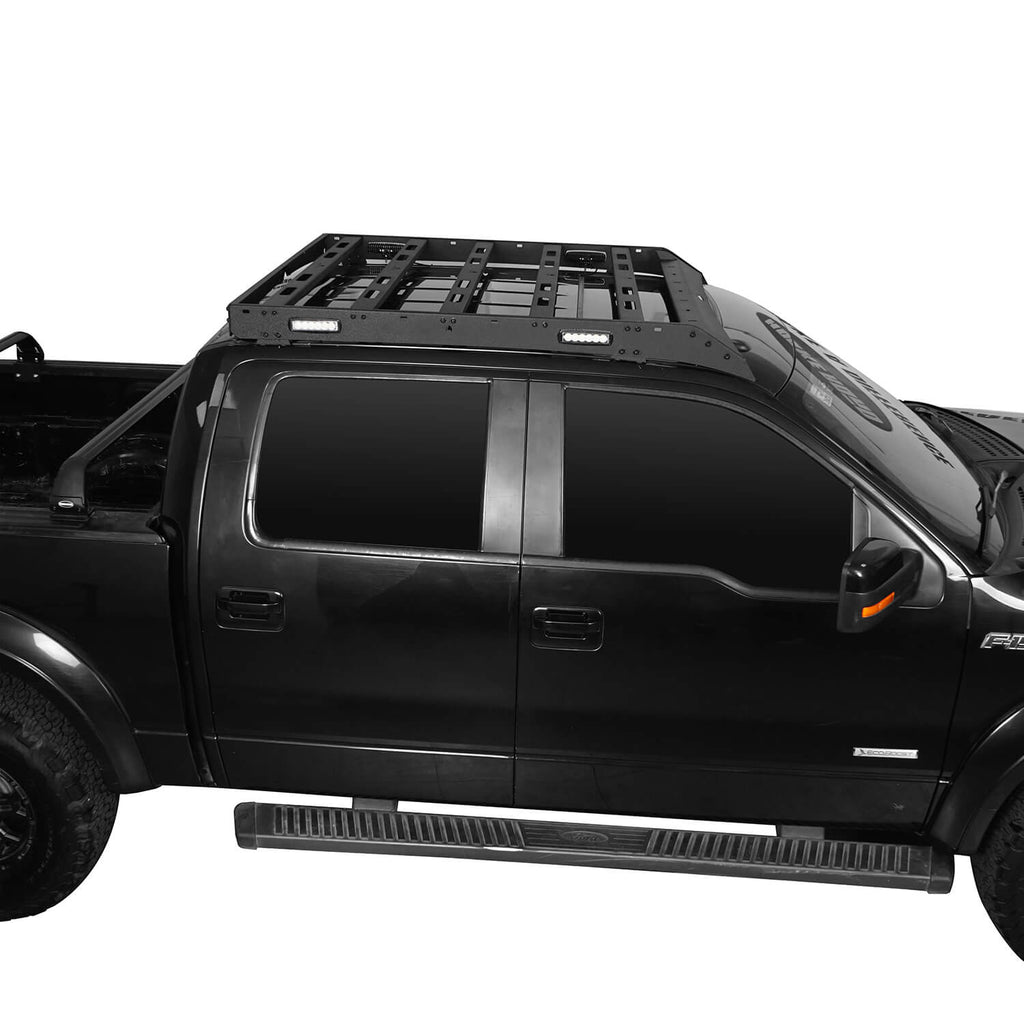 Ford F-150 Roof Rack for 2009-2014 Ford Raptor & F-150 SuperCrew BXG8205 2