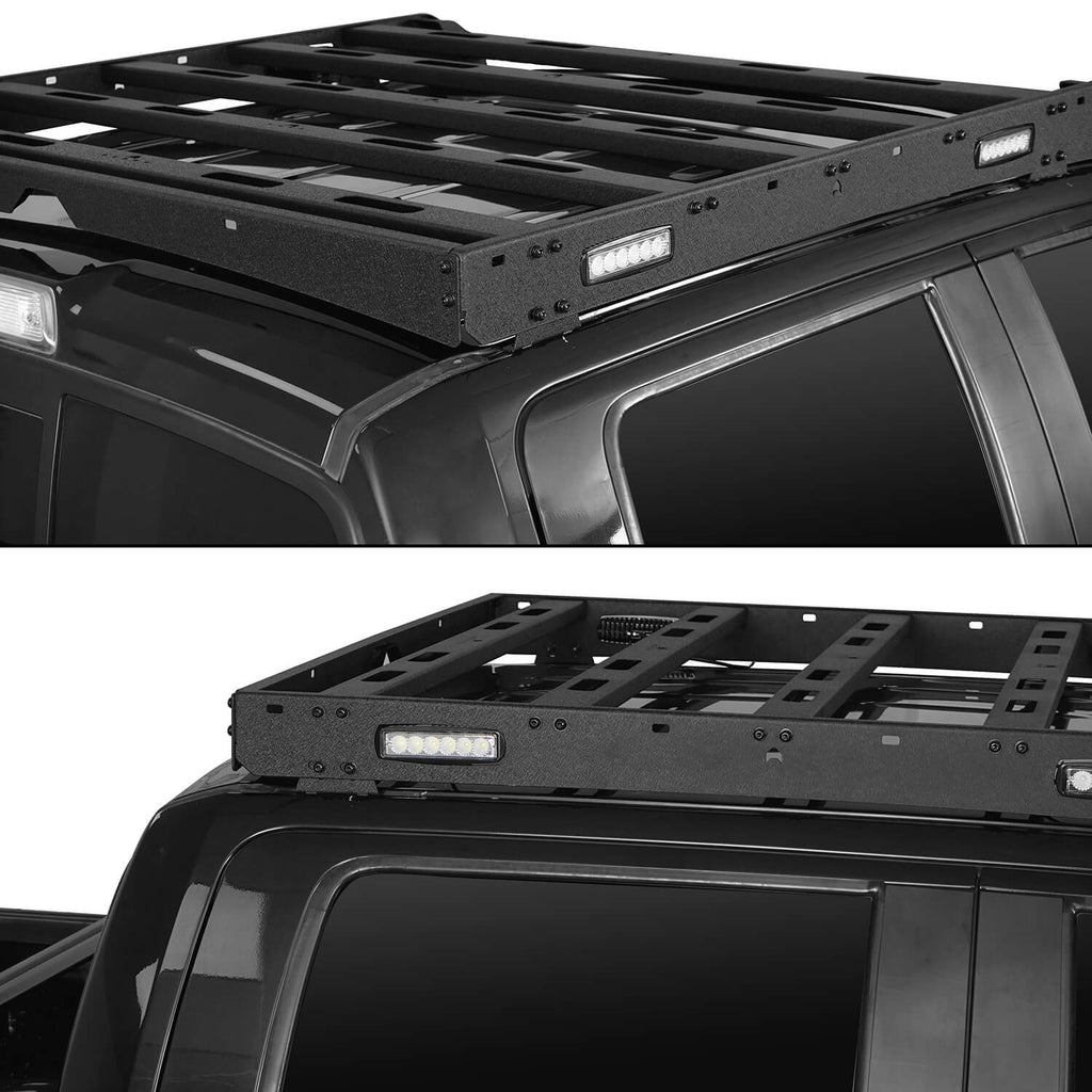 Ford F-150 Roof Rack for 2009-2014 Ford Raptor & F-150 SuperCrew BXG8205 5