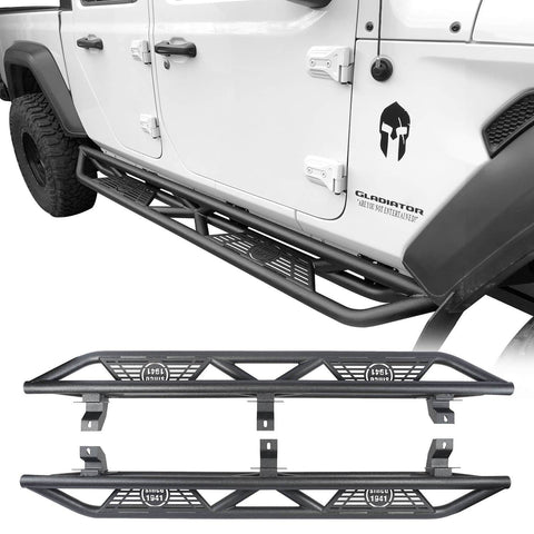 Running Boards Side Steps Nerf Bars(20-21 Jeep Gladiator JT)