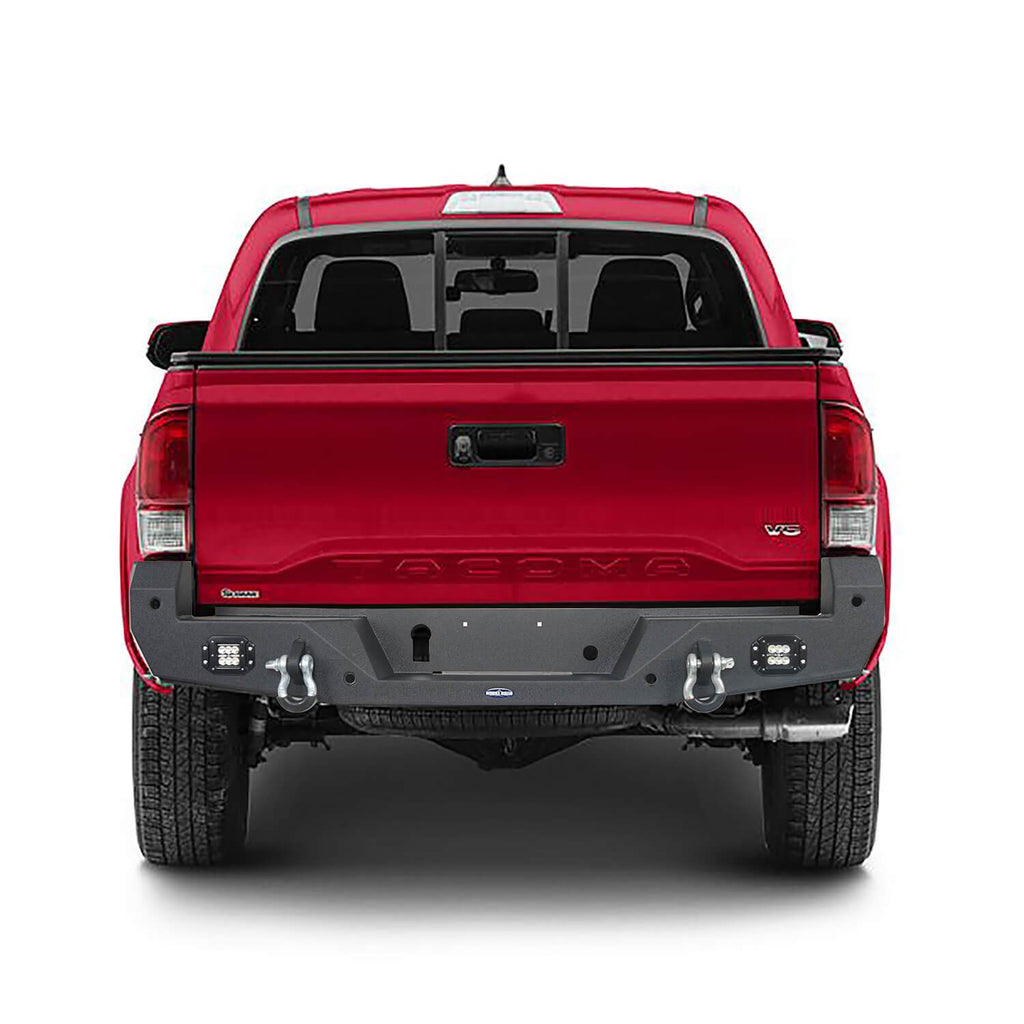 Toyota Tacoma Front Bumper and Rear Bumpers Combo for 2016-2020 Toyota Tacoma 3rd Gen u-Box Offroad BXG42014200 11
