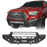 Toyota Tacoma Front Bumper and Rear Bumpers Combo for 2016-2020 Toyota Tacoma 3rd Gen u-Box Offroad BXG42014200 3