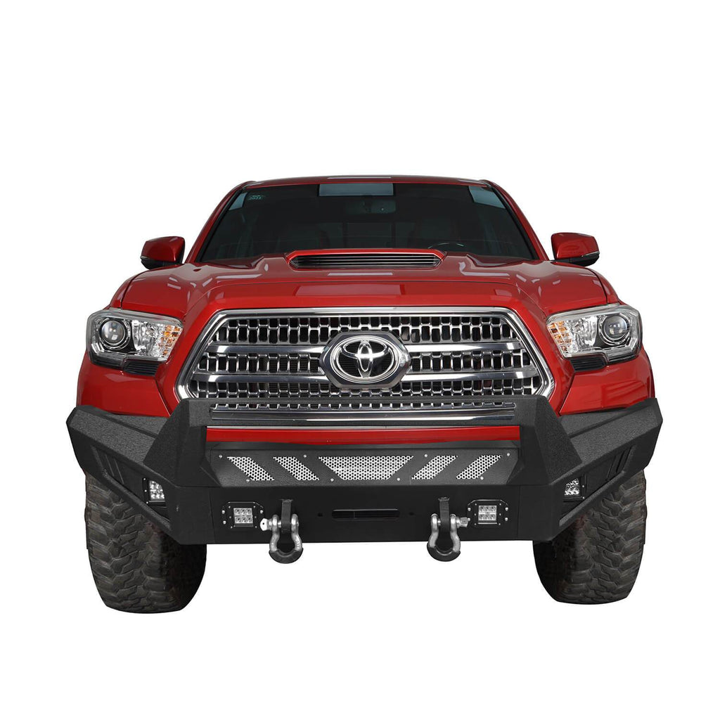 Toyota Tacoma Front Bumper and Rear Bumpers Combo for 2016-2020 Toyota Tacoma 3rd Gen u-Box Offroad BXG42014200 4