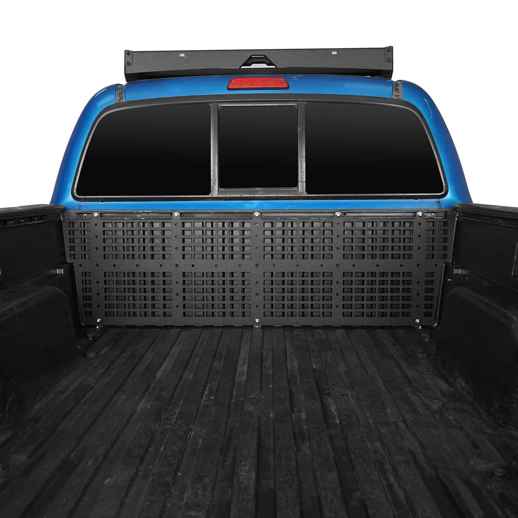 Front Bed Rail Molle System(2005-2015 Toyota Tacoma 6' Long Bed)