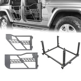 Tubular Doors, Side Mirrors, Door Storage(20-21 Jeep Gladiator JT)