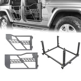 Tubular Door & Rock Crawler Door Storage(2020 Jeep Gladiator)