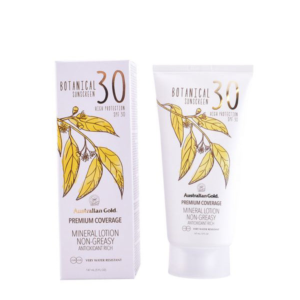 Sun Screen Lotion Botanical Australian Gold SPF 30 (147 ml)