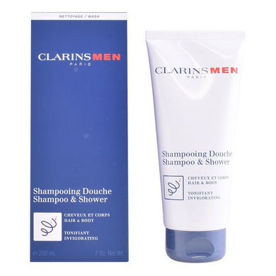 2-in-1 Gel and Shampoo Men Clarins (200 ml)  LotSupplies Marketplace