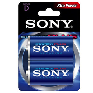 Alkaline Battery Sony AM1-B2D AM1-B2D 1,5 V (2 pcs) Blue