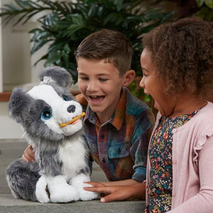 FurReal Friends Ricky The Trick Lovin' Pup Hasbro  Hasbro Brand_Hasbro, category-reference-2571, category-reference-2572, category-reference-2581, category-reference-2662, category-reference-2669, category-reference-2689, for the little ones, hot deals, Price_100 - 200 LotSupplies Marketplace