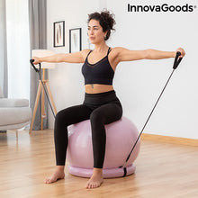 Load image into Gallery viewer, Yoga Ball with Stability Ring and Resistance Bands Ashtanball InnovaGoods
