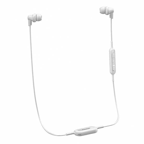 Bluetooth Sports Headset with Microphone Panasonic RP-NJ300BE-W White