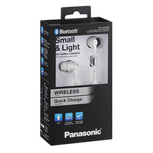 Load image into Gallery viewer, Bluetooth Sports Headset with Microphone Panasonic RP-NJ300BE-W White
