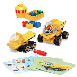 Construction set Junior Knows 1280 (38 pcs)  BigBuy Fun black friday / cyber monday, Brand_BigBuy Fun, category-reference-2571, category-reference-2572, category-reference-2579, category-reference-2662, category-reference-2669, for the little ones, Price_20 - 50 LotSupplies Marketplace