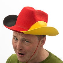 Load image into Gallery viewer, German Flag Cowboy Hat