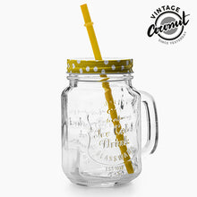 Load image into Gallery viewer, Vintage Coconut Mug with Lid and Straw  LotSupplies Marketplace
