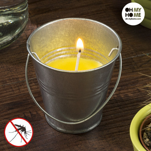 Citronella Bucket Candle  LotSupplies Marketplace