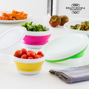 Bravissima Kitchen Folding Food Storage Containers (3 pieces)  LotSupplies Marketplace