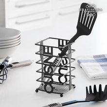 Load image into Gallery viewer, Bravissima Kitchen Cuisine Metal Cutlery Holder  BigBuy Cooking Brand_BigBuy Cooking, category-reference-2403, category-reference-2467, category-reference-2662, category-reference-2664, category-reference-2738, chef / kitchen accessories, organisation, original gifts, Price_10 - 20 LotSupplies Marketplace