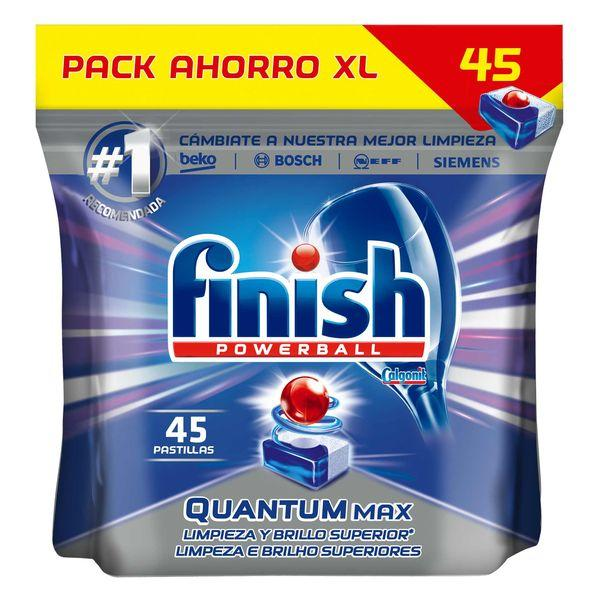Finish Quantum Regular Dishwasher Tablets (45 Washes)  Finish Brand_Finish, category-reference-2399, category-reference-2454, category-reference-2651, cleaning, Price_10 - 20, Reckit Benkisser LotSupplies Marketplace