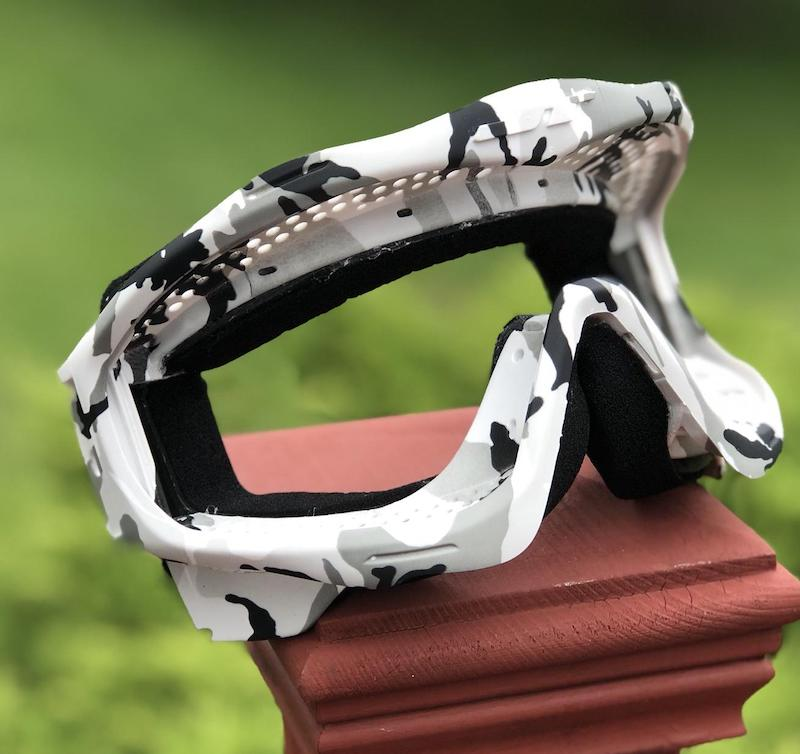 SOLD OUT - Snow Camo JT Proflex Goggle Frame (only) - Limited Edition
