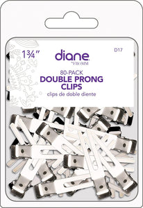 DOUBLE PRONG CLIPS 80PK