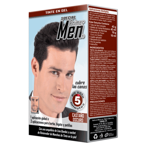 LQ PRIMER MEN DARK BROWN