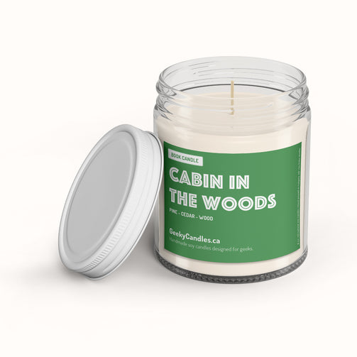 cabin in the woods - Literary & bookish candle