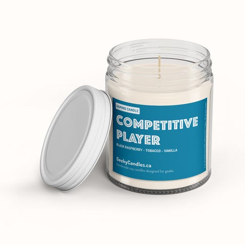 Competitive Player - Gaming Candle