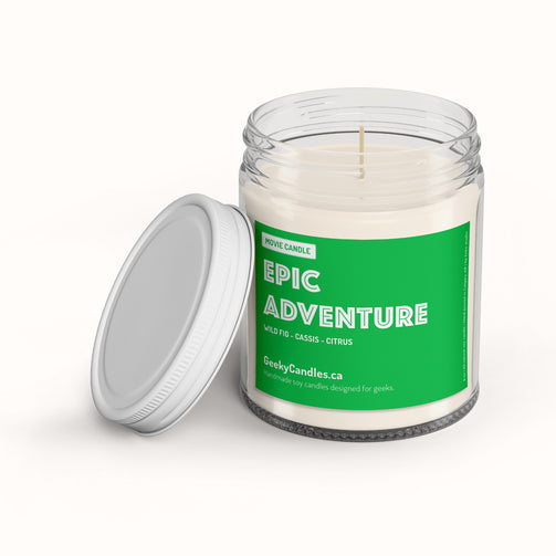 Epic Adventure - Movie Candle