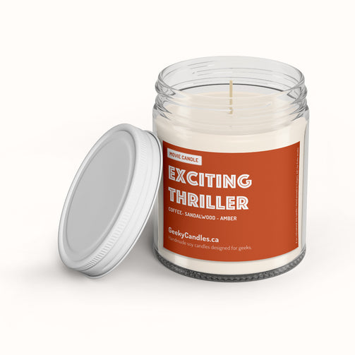Exciting Thriller - Movie Candle