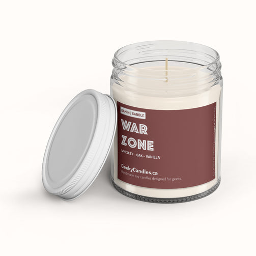 War Zone - Gaming Candle