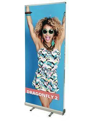 Double Sided Roller Banners Budget - Dragonfly 2
