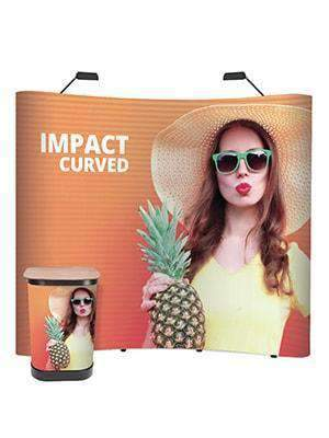 Pop Up Exhibition Stands 3 x 2 Bundle | Curved