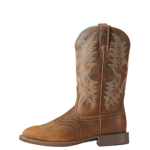 Ariat Women's Heritage Stockman - Spruce
