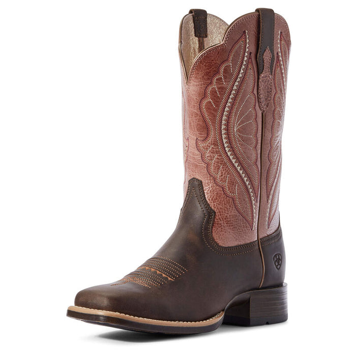 Ariat Women's PrimeTime Dark Java/Petal Pink Boot