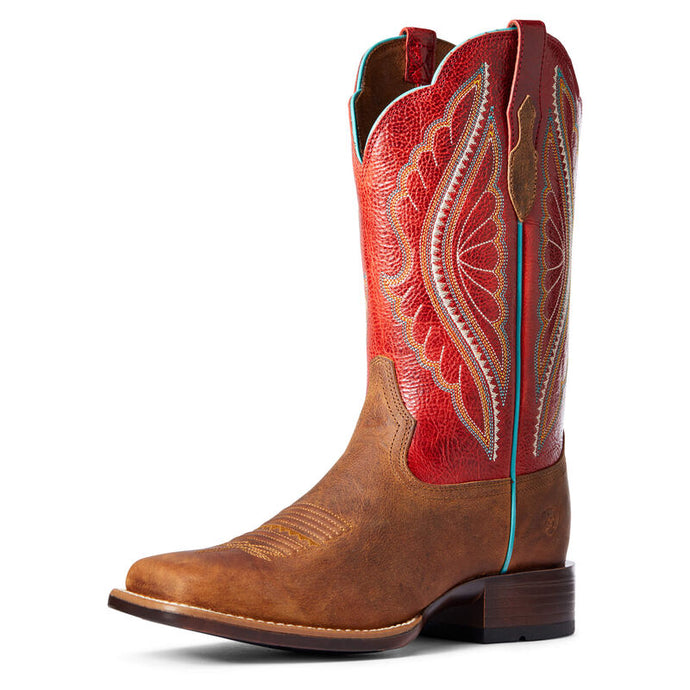 Ariat Women's PrimeTime Tan/Red