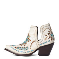 Ariat Dixon Aztek - Crackled White