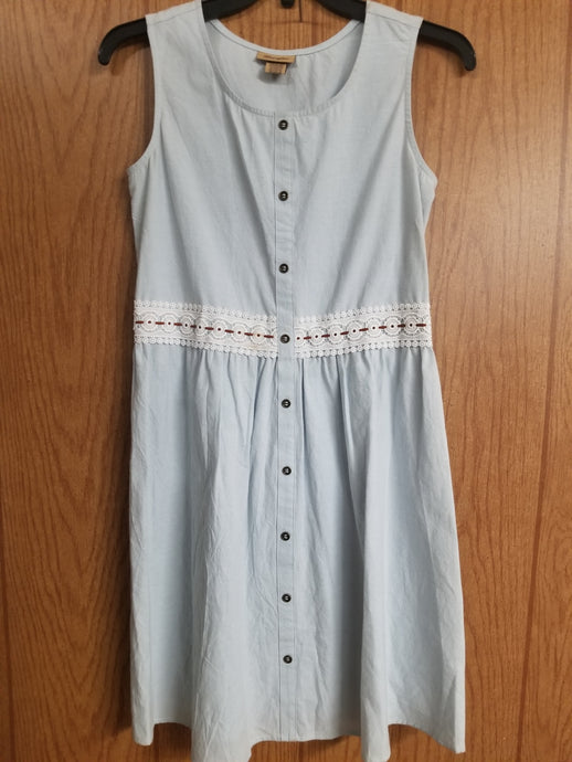 Wrangler Sun Dress - Pale Blue
