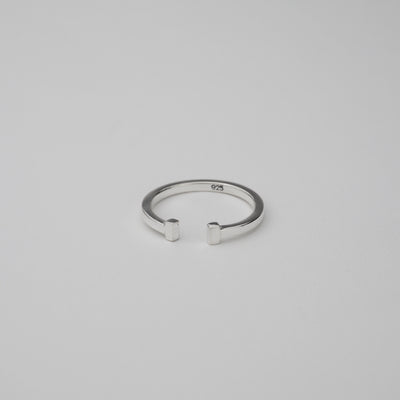 "Silver Ring ""H Ring 001"" シルバー リング-リング-yuzen-official"
